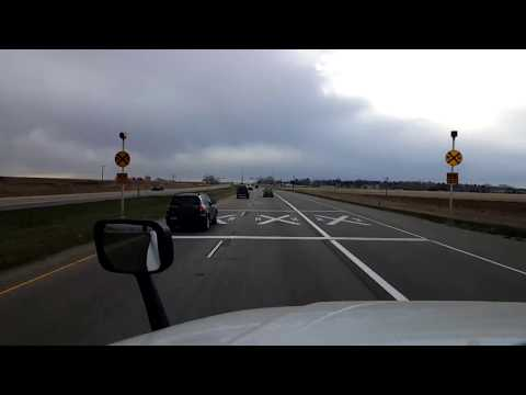 BigRigTravels LIVE! Johnstown to Greeley, Colorado US 34 & US 85-March 28, 2018