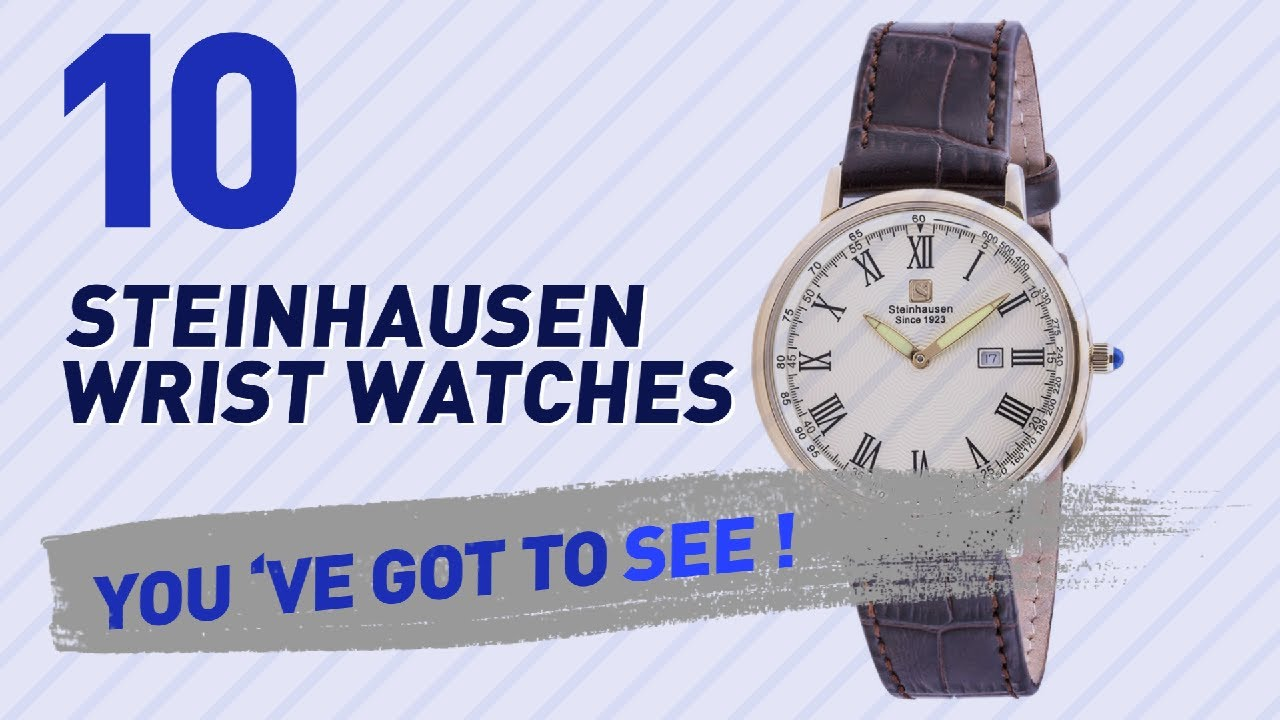 f473ee1e2 Steinhausen Wrist Watches For Men    New   Popular 2017 - YouTube
