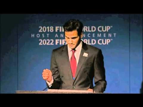 Sheikh Mohammed Bin Hamad Al Thani \ FIFA French Presentation