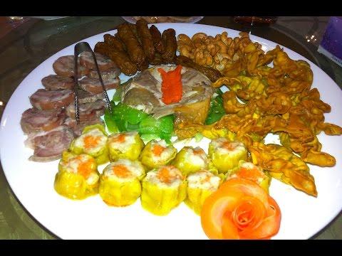 Asian Wedding Food - Cambodian Wedding Food - Food Preparation In Asian Country