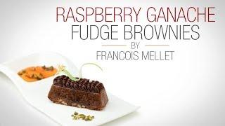 Raspberry Ganache Fudge Brownie - Qzina