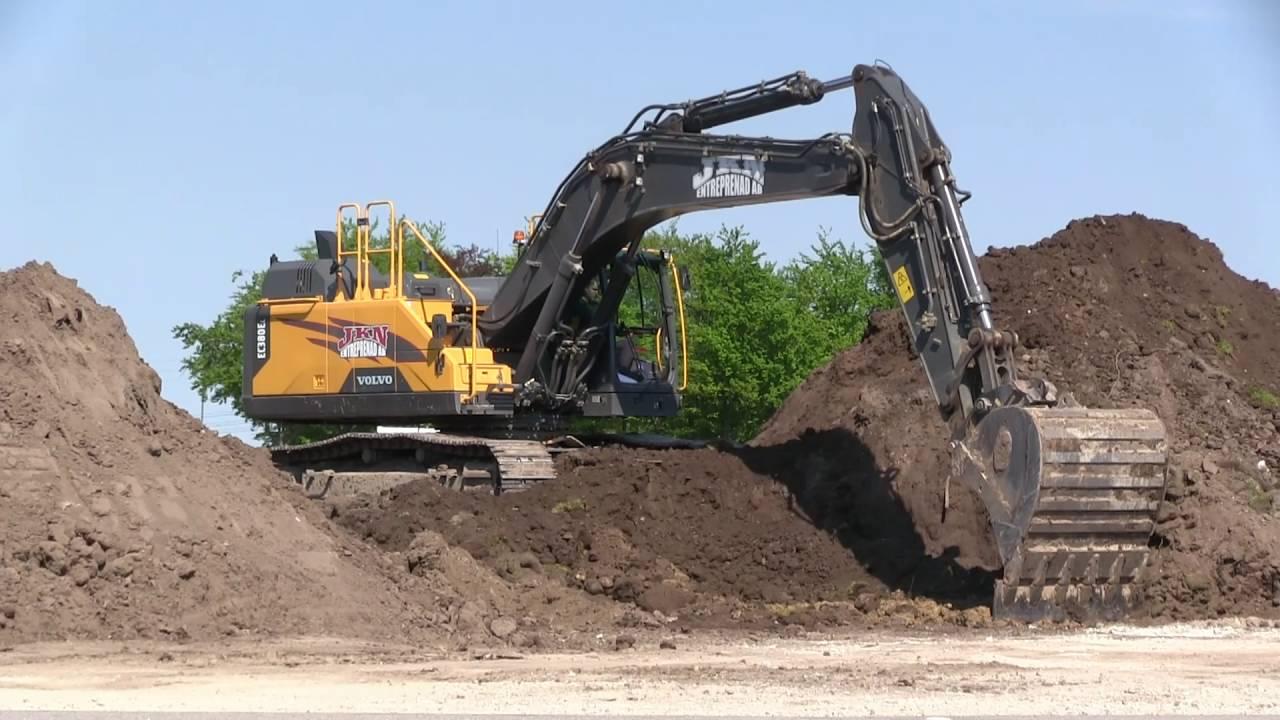 escavatore cingolato EC480EL Maxresdefault