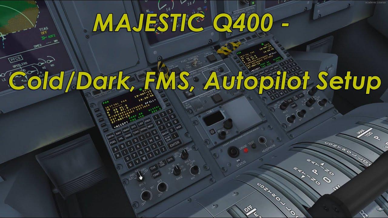 MyQ400,com - The Cockpit Project - Q400 Tutorials