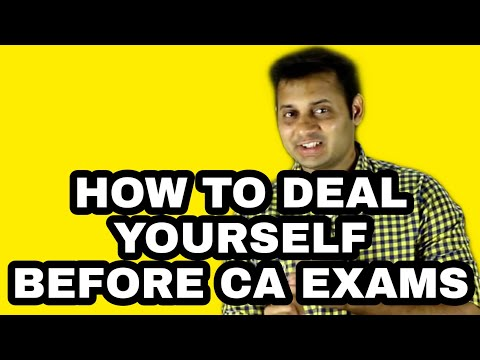 How to Deal Yourself One Month Before CA Exams | Don't Miss Last 5 Minutes | By CA Mayank Kothari