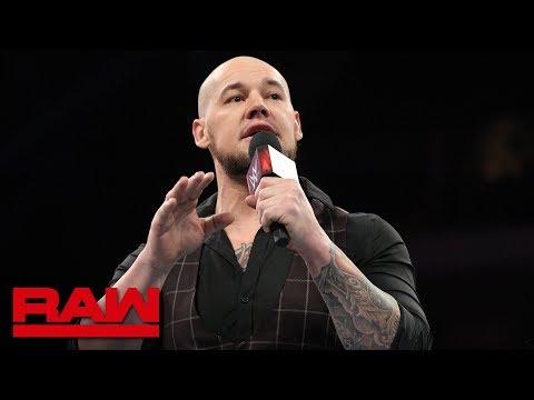Braun Strowman vs. Baron Corbin is on for WWE TLC: Raw, Nov. 26, 2018