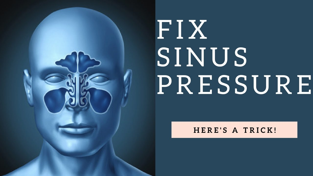 How To Relieve Sinus Pressure  U0026 Unblock A Clogged Stuffy