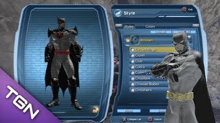 DCUO - How to look like the Flashpoint Batman