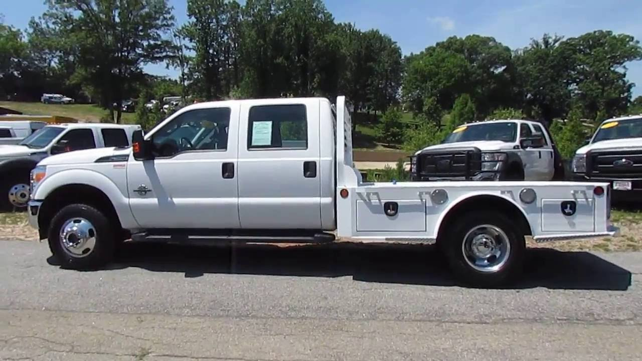 2014 Ford F 350 Flatbed Dually 4x4