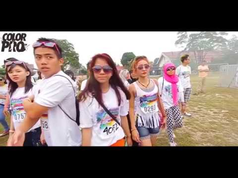AFTER MOVIE PEKANBARU RUN & COLOR PARTY 2015