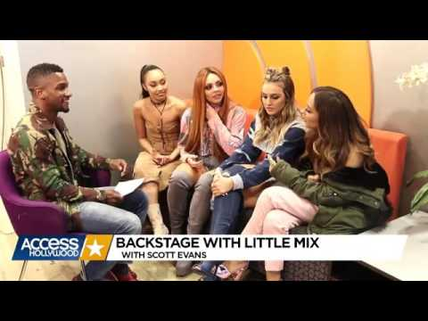 Little Mix Access Hollywood Interview - 28.02.17