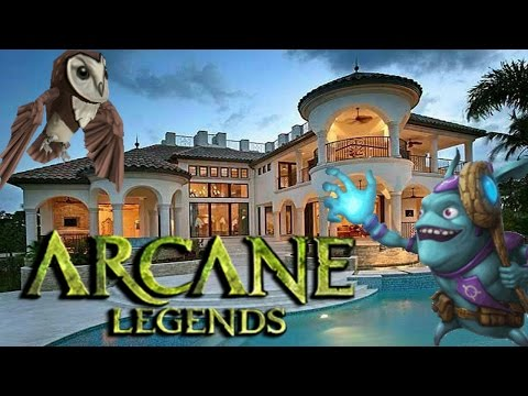 Arcane Legends - BEST HOUSE PREVIEW!+ SURPRISE!!😉😉
