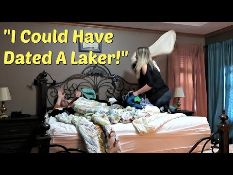 SAYING ANOTHER GIRL'S NAME IN MY SLEEP PRANK ON WIFE