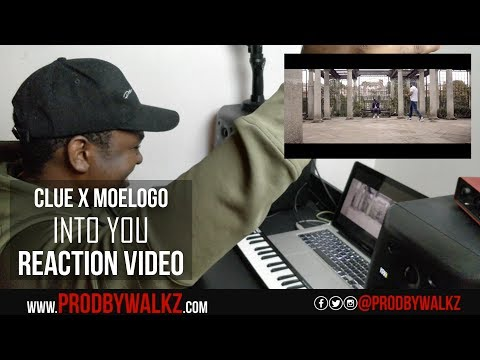Clue x Moelogo - Into You [Music Video] @clueofficial x @moelogo | Link Up TV | Reaction
