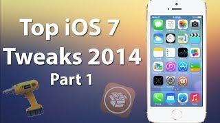 Top 10 Best iOS 7 Cydia Tweaks 2014 (Part 1) - iPhone, iPad, & iPod iOS 7 Cydia Tweaks