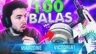 KILO de 100 Balas IMPARABLE!! WARZONE