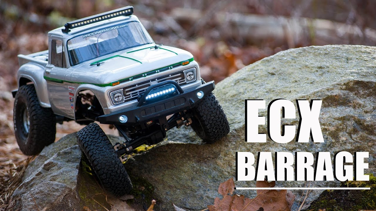ecx barrage 1 9 rc crawler why you havn 39 t seen it yet. Black Bedroom Furniture Sets. Home Design Ideas