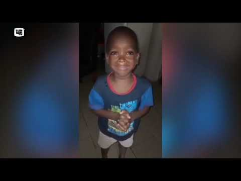 Funny video of Boy asking Mum to Calm Down
