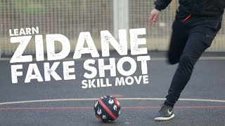 Learn Zidane Fake Shot skill & Ball manipulation move - Day 36 of 90