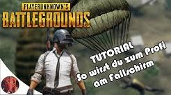 ✈ 5 Tipps am Fallschirm - perfekter Start in PUBG - Deutsch HD