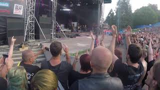 Eluvietie omnos metalfest open air plzen 2018
