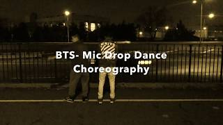 BTS- Mic DROP Dance Choreography
