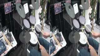 mmag.ru: Roland HD-3 V-Drums Lite 3d video review