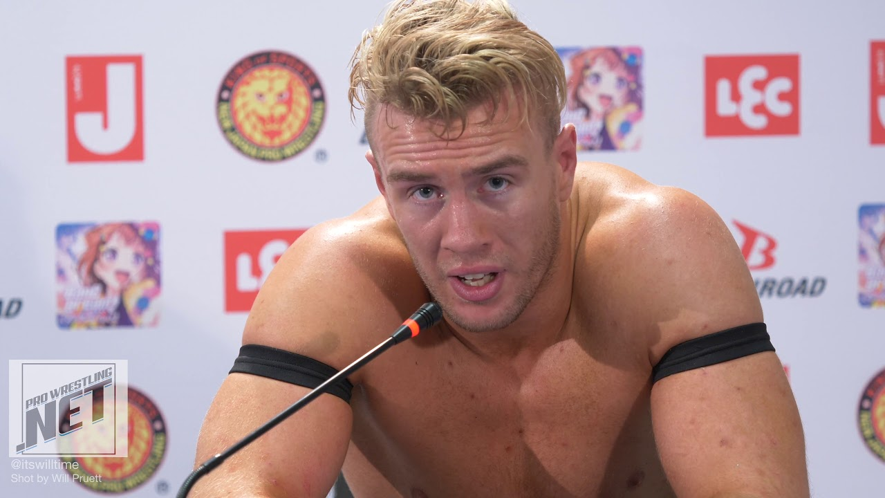 Will Ospreay post match comments at NJPW G1 Special - YouTube