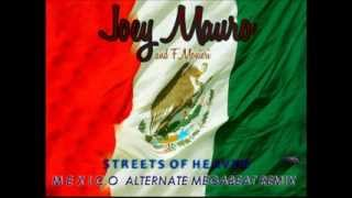 Joey Mauro - Streets Of Heaven - Mexico Alternate Megabit Remix - Italo disco- Official