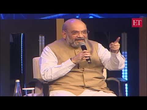 Kashmir is normal, visit yourself to know: Amit Shah to India Inc | ET Awards 2019