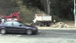 Dump truck Accident-Rollover Pacifica California