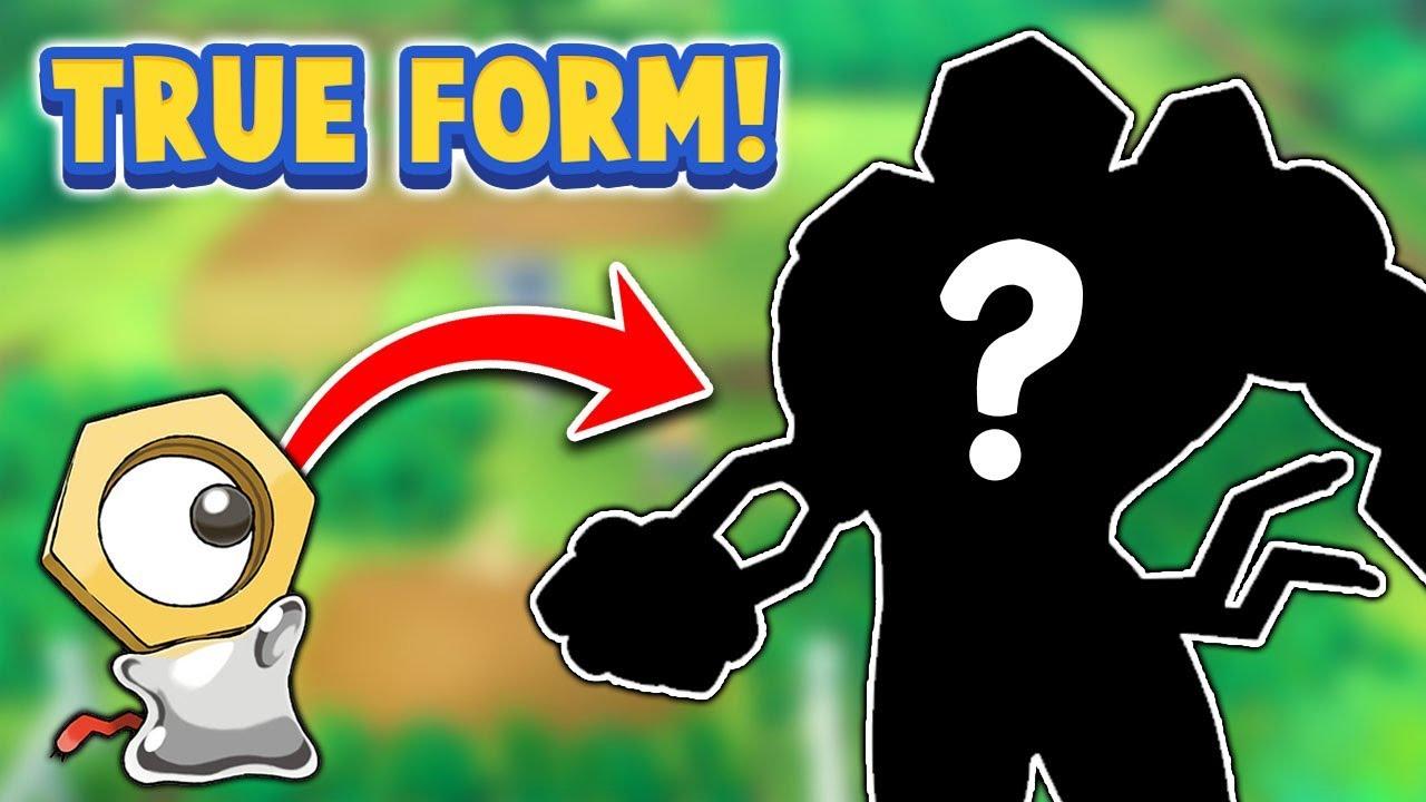MELTAN'S TRUE FORM! NEW INFO! - Pokémon Let's Go Pikachu & Eevee