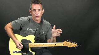 Tuning the Guitar without a Tuner electric or acoustic guitar Beginner Lesson