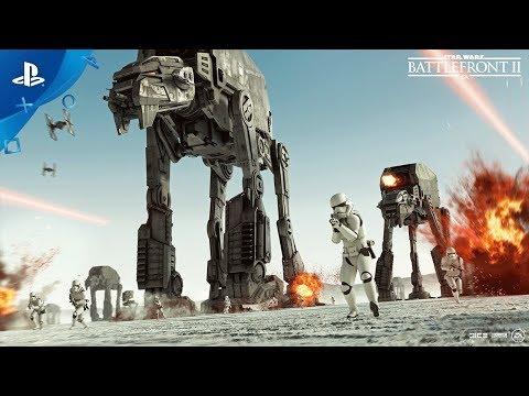 Star Wars Battlefront II - TGA 2017: The Last Jedi Season   PS4