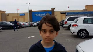 Beyblade Hunting Walmart  Mississauga,Ont ,Canada April 28th 2013