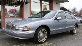 1994 Chevrolet Caprice Classic LS Start Up, Engine, In Depth Tour, and Test Drive