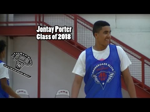 "6'9"" 2018 Jontay Porter (Younger Brother of #1 2017 Michael Porter Jr.)  ""GOT GAME"""