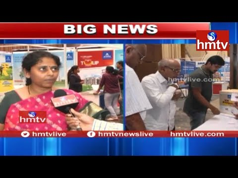 Customers Elated Over hmtv Property Expo | Cyber City Convention Centre | Madhapur | hmtv News