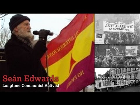 Seán Edwards long time Communist Activist