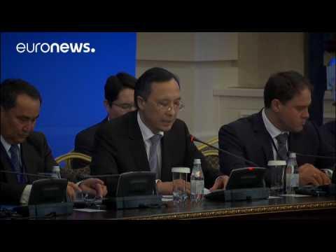Syria peace talks start in Kazakhstan