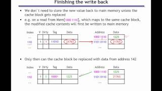Writing to caches