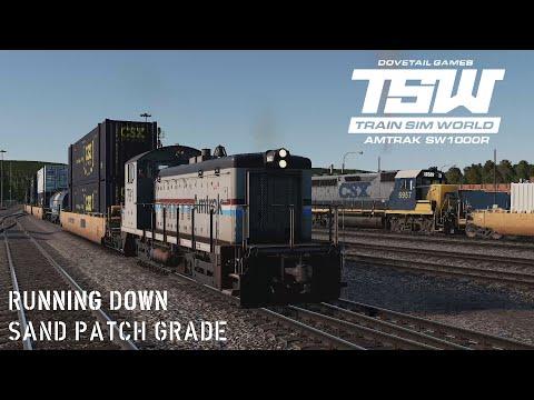 Train Sim World: SW1000R on Sand Patch Grade |