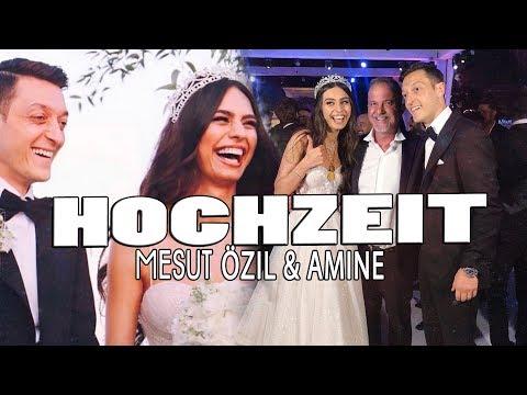 MESUT & AMINA haben geheiratet ❤SO war die Hochzeit von Fußballstar MESUT