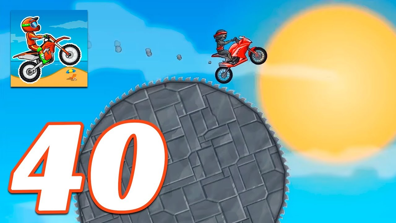 Moto X3m Bike Race Game The Cave Gameplay Android Ios