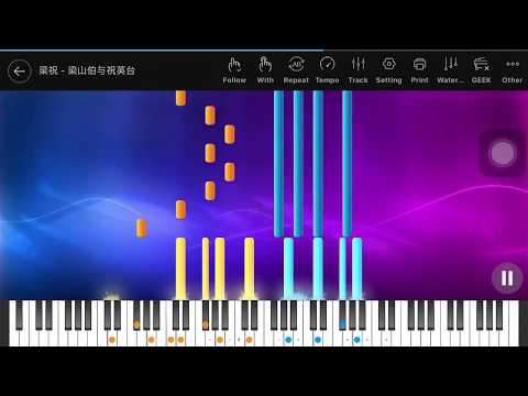 [Piano tutorial] Butterfly Lovers - Liangzhu - 梁祝 (New version)