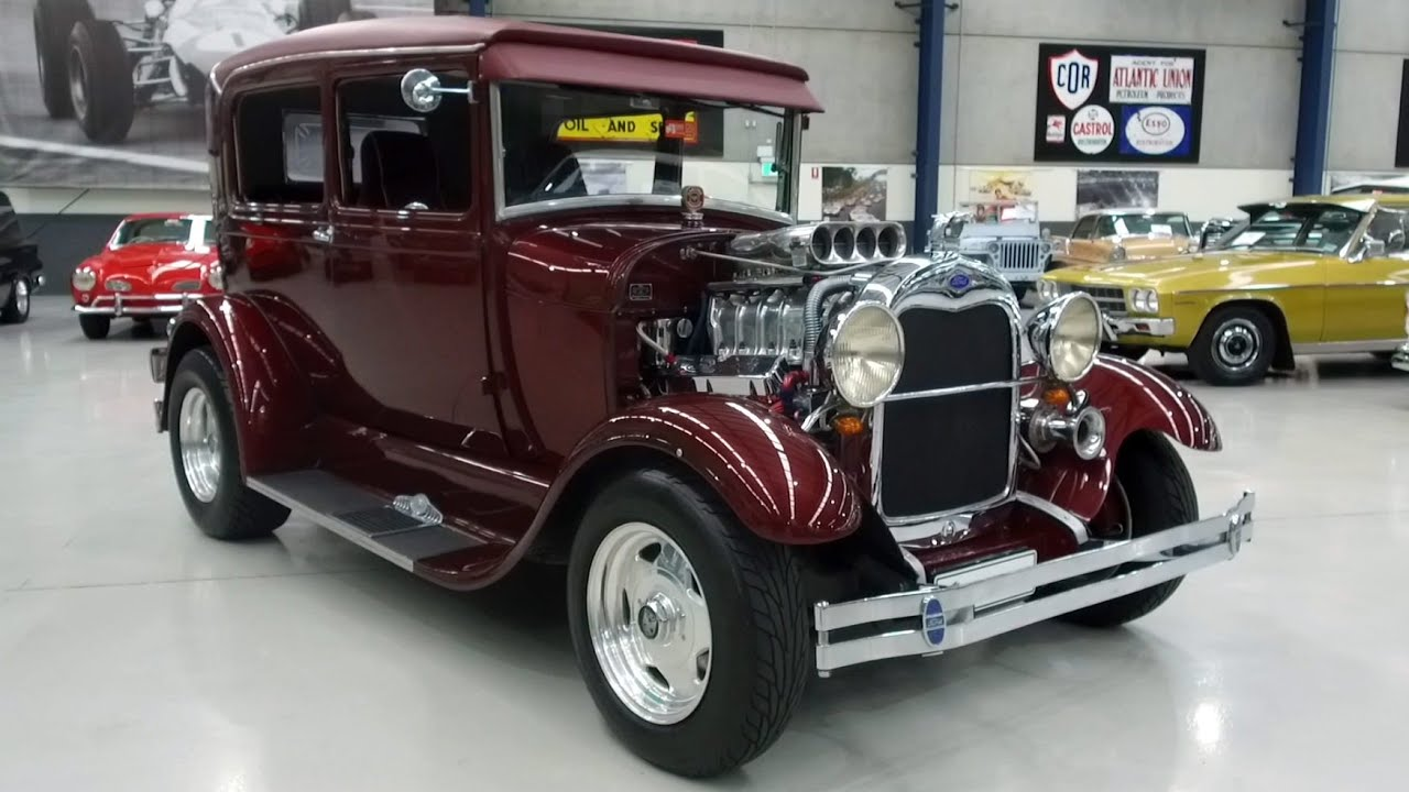 1928 Ford Model A 'Hot Rod' Tudor (RHD) - 2020 Shannons Winter Timed Online Auction