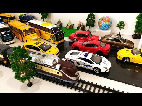 Toy Train Car Cartoon for Kids | Trains for Children | Toys Trains Videos for Kids Cartoon Toys