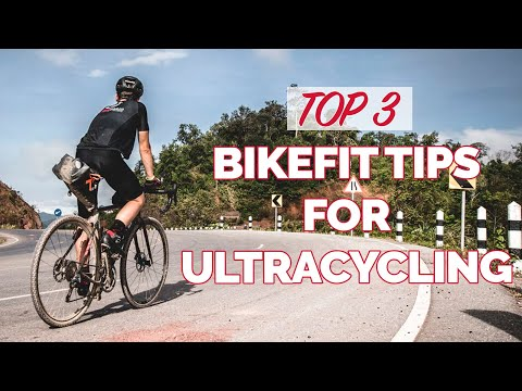 Top 3 bike fit advice for ultra cycling races