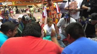 Lakota Tribe Singers in Rapid City October 2015