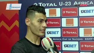 Time live - لقاءات مع بعض لاعبي منتخب مصر والكاميرون عقب انتهاء اللقاء