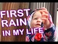 Twins Adorable Reaction On First Rain In Their Life mp3